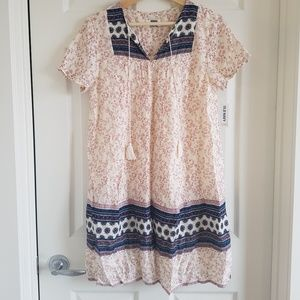 Boho dress with tassels